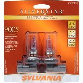 Show details of Sylvania 9005SU BP TWIN SilverStar Ultra, Twin Pack.