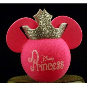 Show details of Disney's Minnie Mouse Pink and Silver Antenna Ball.
