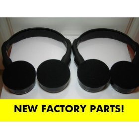 Show details of Honda Odyssey Wireless IR Headphones for model years 2003, 2004, 2005, 2006, 2007, 2008 shelf 31.