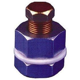 Show details of B&M 80250 Automatic Transmission Universal Drain Plug Kit.