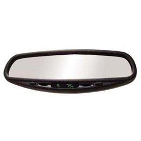 Show details of CIPA 36400 Auto Dimming Mirror w/Compass & Temperature.