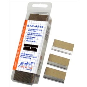 Show details of Advanced Tool Design Model ATD-8546 Single Edge Razor #9 Razor Blades - 100/box.