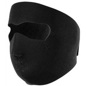 Show details of Zan Headgear Full Face Neoprene Mask Black OSFA.