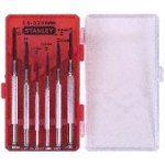 Show details of Stanley 66-039 6-Piece Jewelers Precision Screwdriver Set.