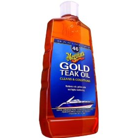 Show details of Meguiar's M4616 Gold Teak Oil - 16 oz.
