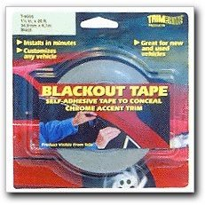 Show details of Trimbrite Blackout Tape.