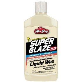Show details of Wax Shop WS11 Super Glaze Liquid Wax 16 oz.Bottle.