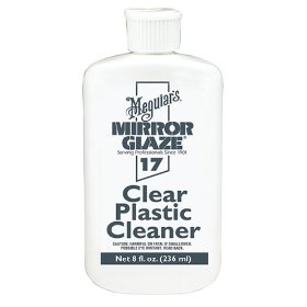 Show details of Meguiar's M1708 #17 Clear Plastic Cleaner 8 oz..