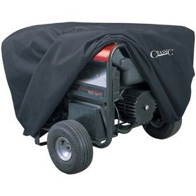 Show details of Classic Accessories 79547 Generator Cover, X-Large, Black.