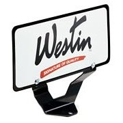 Show details of Westin 32-0055 License Plate Relocator for Bull Bar.