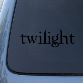 Show details of TWILIGHT LOGO - Edward Cullen Vinyl Decal Sticker #1655 | Vinyl Color: Black.