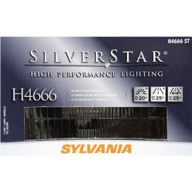 Show details of Sylvania H4666ST SilverStar High Performance Halogen Headlight Bulb.