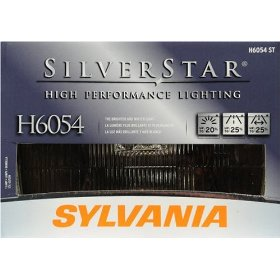Show details of Sylvania H6054ST SilverStar High Performance Halogen Headlight Bulb.