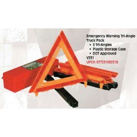 Show details of Bell Automotive #22-5-00231-8 3PK Warning Triangle.