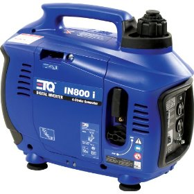 Show details of Eastern Tools & Equipment IN800I 800-Watt 4-Cycle OHV Gas-Powered Portable Digital Inverter Generator (CARB Compliant).