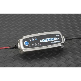 Show details of CTEK MULTI US 3300 Battery Charger For 12-volt lead-acid batteries.