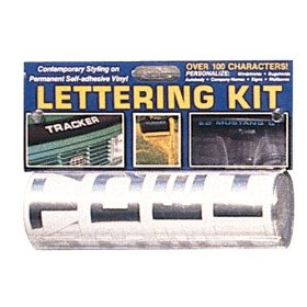 Show details of Chrome Letter Kit (1 1/2 inch).