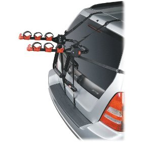 Show details of Bell Triple Back Locking 3-Bike Trunk Mount Rack.