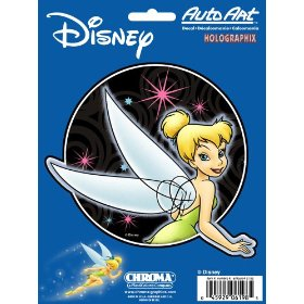 "Show details of Tinkerbell Optic 6"" x 8"" Decal - Holographic."