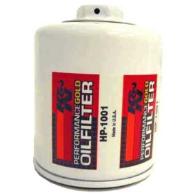Show details of K&N HP-1001 Oil Filter.