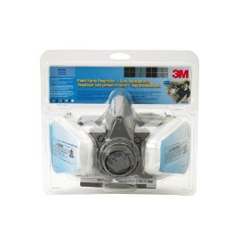 Show details of 3M R6211 Low-Maintenance Half-Mask Organic Vapor, P95 Respirator Assembly, Medium.