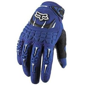 Show details of Fox Racing Dirtpaw Gloves - Small/Blue.