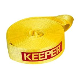 "Show details of Keeper 2932 3""x20' Vehicle Recovery Strap, 11,000 lbs. Max Vehicle Wt. (22,500 lbs. web cap.) Clamshell."
