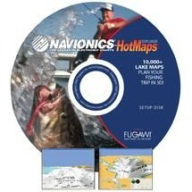 Show details of NAVIONICS HOTMAPS EXPLORER DVD 10,000+ LAKE MAPS.