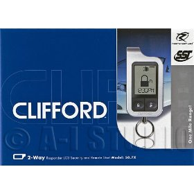 Show details of Clifford 50.7X Security alarm + Remote start.