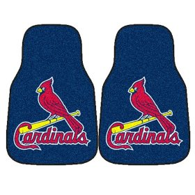 Show details of Fanmats MLB - St. Louis Cardinals Car Mats #6504.