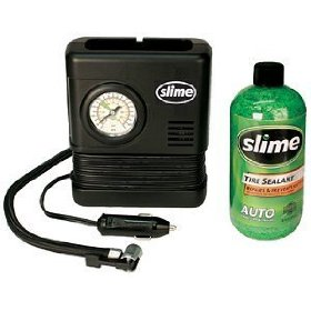 Show details of Slime Smart Spair 15-Minute Emergency Tire Repair Kit.