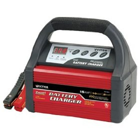 Show details of Black & Decker #VEC1089A 2/10/15A 12V Charger.