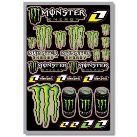Show details of One Industries Team Monster Decal Sheet.
