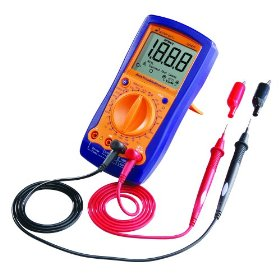 Show details of Actron CP7677 Automotive TroubleShooter - Digital Multimeter and Engine Analyzer.