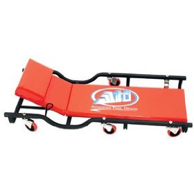 Show details of Advanced Tool Design Model ATD-81042 Heavy Gauge Steel Creeper With Adjustable Headrest.