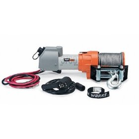 Show details of Warn 603700 Warn Works 3700 DC 1.9-horsepower Utility Winch - 3,700-Pound Capacity.