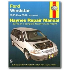Show details of Haynes Ford Windstar Mini-Van (95-01) Manual.