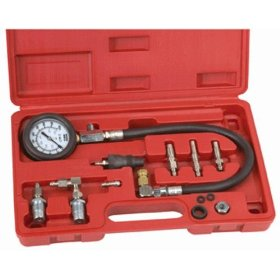 Show details of Pro-Grade Compression Test Kit for Diesel Engines - Universal Fit.