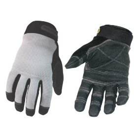 Show details of Youngstown Glove Co. 05-3080-70-M General Utility lined with KEVLAR Glove Medium, Gray.