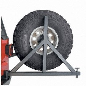 Show details of Warn 64337 Bumper Tire Carrier.