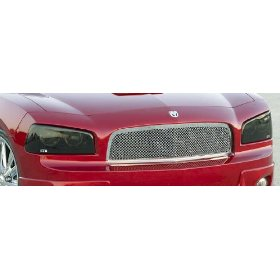 """Show details of GTS Dodge Charger """"Blackouts"""" Headlight Covers."""