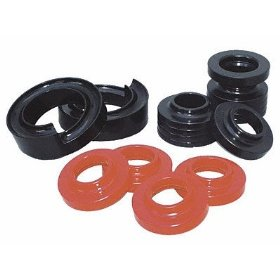 Show details of Energy Suspension 2.6103R Hyper-Flex Red Coil Lift Isolator Set.