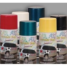 Show details of Duplicolor Car Art Temporary Paint - Black.