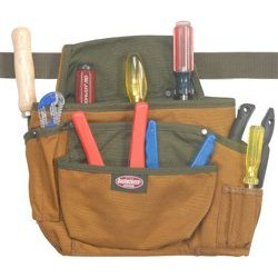 Show details of Bucket Boss 54009 Left Hand Tool Pouch w/Belt.