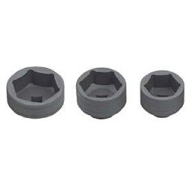 Show details of Oil Filter Wrench Canister Socket Set - 27mm, 32mm, 36mm.