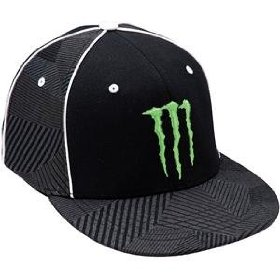 Show details of One Industries Youth Monster Race Hat - One size fits most/Black.