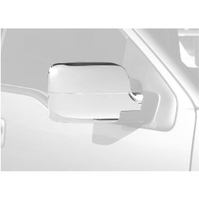 Show details of Putco 401113 Chrome Trim Mirror Covers.