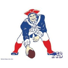 Show details of New England Patriots Old Logo Ultra Decal.