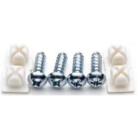 Show details of Cruiser Accessories 80230 Fasteners, Domestic-Steel.