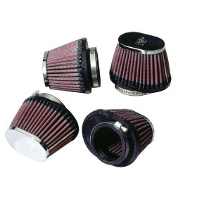 Show details of K&N RC-0984 Universal Chrome Filter.